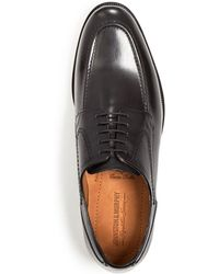 Johnston & Murphy - Stratton Moc Toe Oxfords - Lyst