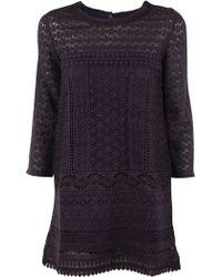Vanessa Bruno Athé Billy 3/4 Sleeve Dress - Lyst