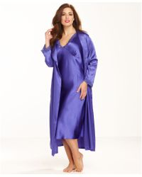 Jones New York   Plus Size Essentials Bliss Robe   Lyst
