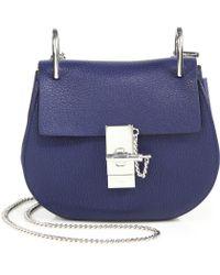 Chlo¨¦ Baylee Mini Satchel Bag in Blue (NAVY)   Lyst