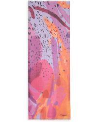 Diane von Furstenberg | Hanovar Abstract-print Modal Scarf | Lyst