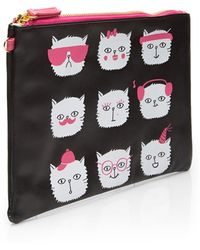 Forever 21 - Caturday Pouch Set - Lyst