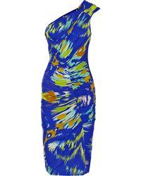 Matthew Williamson One-shoulder Jersey Dress - Lyst