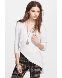 Free People 'Sunset Park' Thermal Top - Lyst