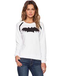 Zoe Karssen Loose-Fit Bat-Print Sweatshirt - Lyst