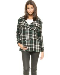 Lovers + Friends - Without You Coat - Plaid - Lyst