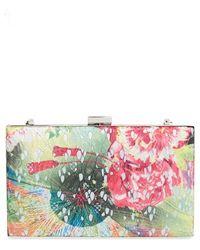 Sondra Roberts Floral Lace Frame Clutch - Lyst
