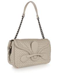 Bottega Veneta Rialto Medium Intrecciato Leather Shoulder Bag - Lyst
