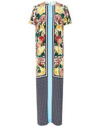 Mother Of Pearl Moriri Printed Silk Maxi Dress - Lyst