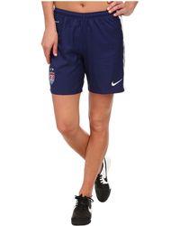 Nike Usa Home/Away Stadium Short - Lyst