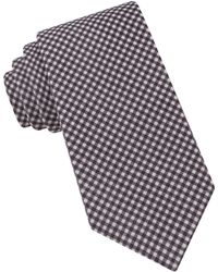Ted Baker - Chequered Silk Tie - Lyst