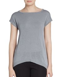 Peserico Knit Dolman Pullover - Lyst