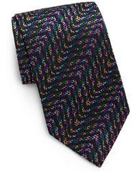 Missoni Abstract Silk Tie - Lyst