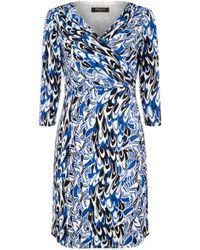 Precis Petite - By Jeff Banks Scribble Print Dress - Lyst