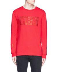 Hood By Air | Swarovski Crystal Logo T-shirt | Lyst