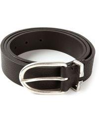 Dondup Pebble Textured Belt - Lyst