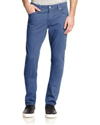 AG Adriano Goldschmied The Graduate Jeans blue - Lyst