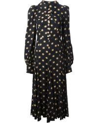 Biba - Star Print Maxi Dress - Lyst