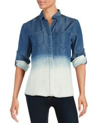 Thread & Supply - Ombre Button-front Shirt - Lyst