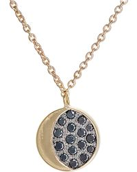 Pamela Love - Reversible Moon Phase Pendant Necklace - Lyst