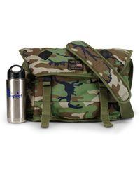 Denim & Supply Ralph Lauren Camouflage Messenger Bag - Lyst