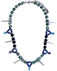 Joomi Lim - Swarovski Crystal Digital Tribe Necklace - Lyst