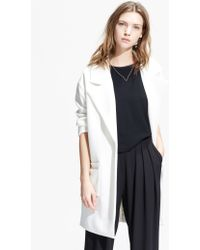 Mango Oversize Cotton-Blend Coat - Lyst