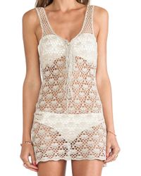 Lisa Maree My Story Book Crochet Cover Up - Lyst