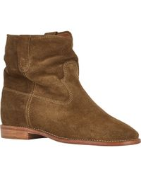 Etoile Isabel Marant Crisi Ankle Boots - Lyst