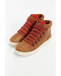 Clae Grant Leather Boot - Lyst