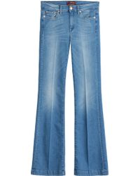 7 For All Mankind Flared Jeans - Lyst