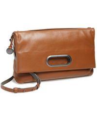 Skagen 'Ella' Leather Foldover Crossbody Bag - Lyst