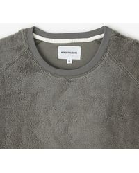 Norse Projects Vorm Hairy Sweatshirt - Lyst