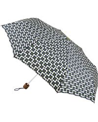 Orla Kiely - Tiny Flower Shadow Print Folding Umbrella - Lyst