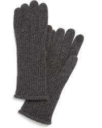 Halogen - 'touch Tech' Cashmere Gloves - Lyst