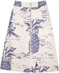 Sea | Pineapple Zip Skirt | Lyst