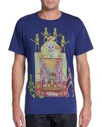 Etro Graphic Skeleton Party Tee - Lyst