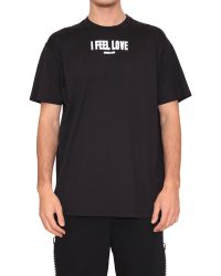 Givenchy Cotton T-Shirt I Feel Love Print - Lyst