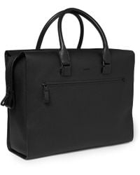 Lanvin - Textured-Leather Holdall - Lyst