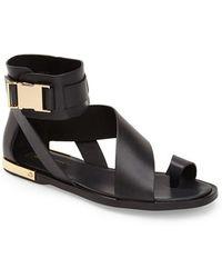 Rachel Zoe 'Poppie' Leather Sandal - Lyst