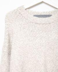 Raquel Allegra Alpaca Pullover Sweater beige - Lyst