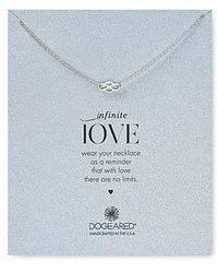 "Dogeared - Infinite Love New Infinity Necklace, 18"" - Lyst"