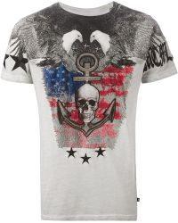 Philipp Plein 'Battary' T-Shirt - Lyst