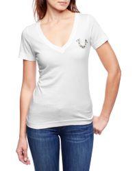 True Religion Embellished Logo Womens T-Shirt - Lyst