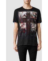 AllSaints Acid Crew T-Shirt - Lyst