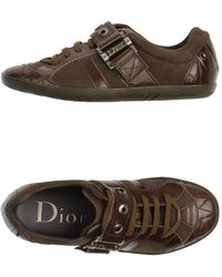 Dior Lowtops Trainers - Lyst