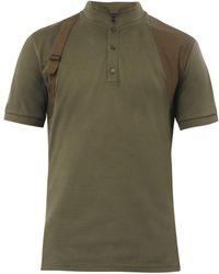 Alexander McQueen Harness Polo Shirt - Lyst