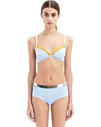 Paco Rabanne Womens Bikini Top - Lyst
