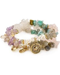 Sequin - Colour Karma Joy Sun Bracelets, Set Of 3 - Lyst