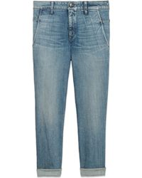 Helmut Lang Sive Wash Slouched Jean - Lyst